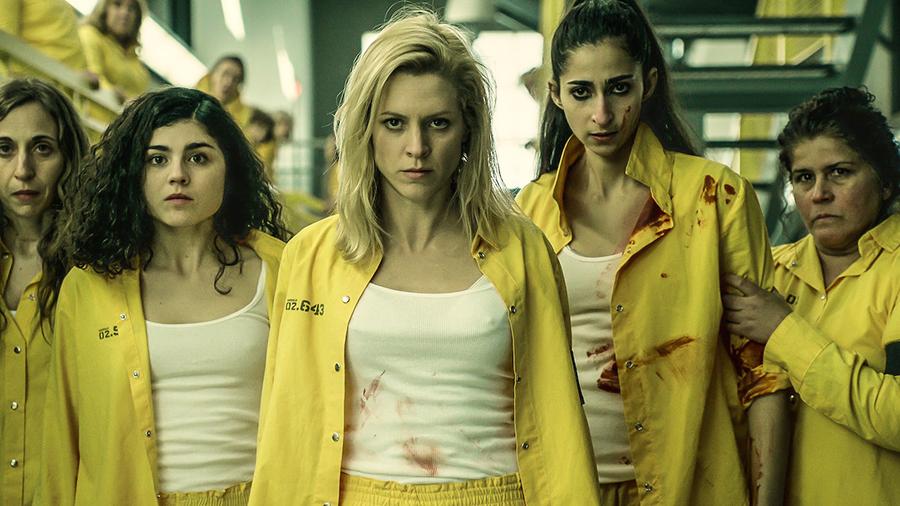 ロック アップ スペイン 女子 刑務所